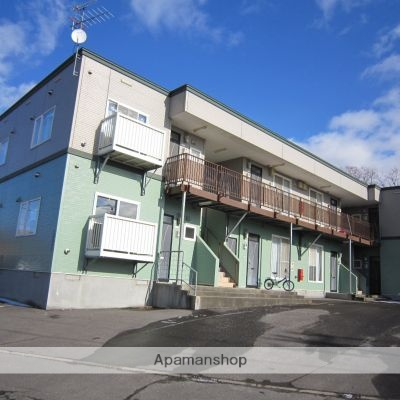 北海道亀田郡七飯町、七飯駅徒歩19分の築18年 2階建の賃貸アパート