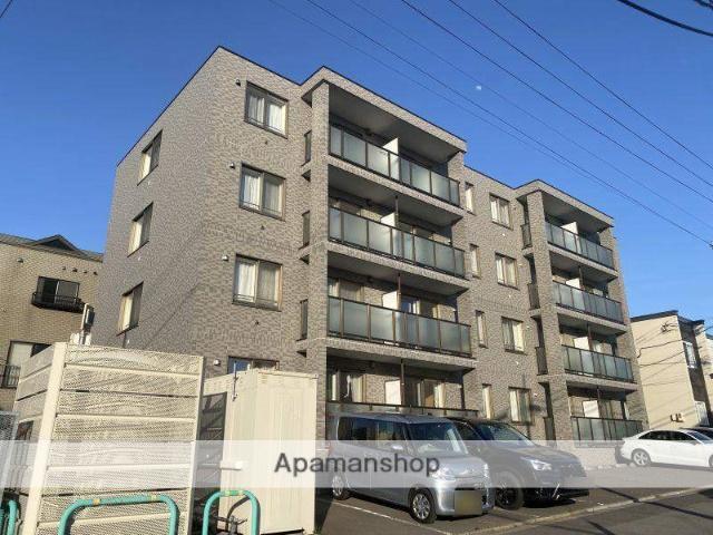 北海道函館市、駒場車庫前駅徒歩20分の築9年 4階建の賃貸マンション