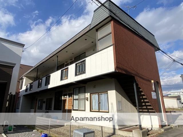 北海道函館市、市民会館前駅徒歩5分の築27年 2階建の賃貸アパート