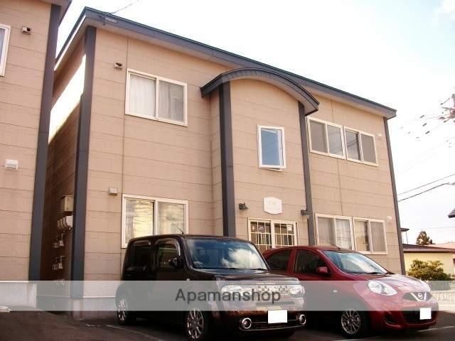 北海道函館市の築17年 2階建の賃貸アパート
