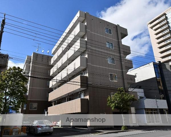 北海道函館市、五稜郭公園前駅徒歩9分の築16年 6階建の賃貸マンション