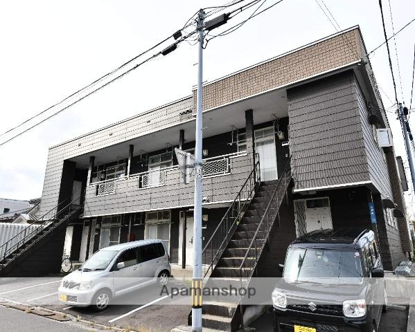 北海道函館市、競馬場前駅徒歩16分の築26年 2階建の賃貸アパート