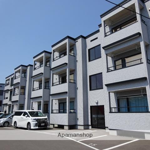 北海道函館市、五稜郭公園前駅徒歩11分の築5年 3階建の賃貸アパート