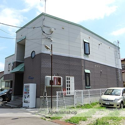 北海道函館市、柏木町駅徒歩12分の築18年 2階建の賃貸アパート