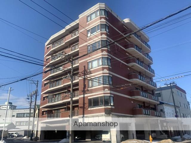 北海道函館市、宝来町駅徒歩6分の築26年 7階建の賃貸マンション