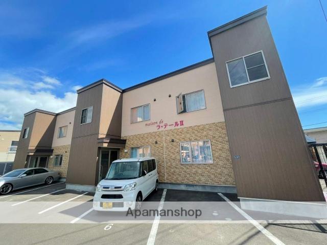 北海道函館市、杉並町駅徒歩26分の築3年 2階建の賃貸アパート