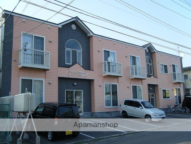 北海道函館市、五稜郭駅徒歩15分の築14年 2階建の賃貸アパート