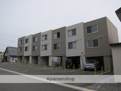 北海道亀田郡七飯町、七飯駅徒歩15分の築7年 3階建の賃貸マンション