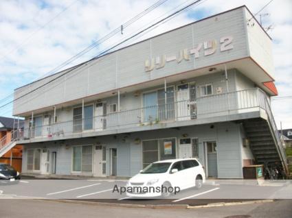北海道函館市の築33年 2階建の賃貸アパート