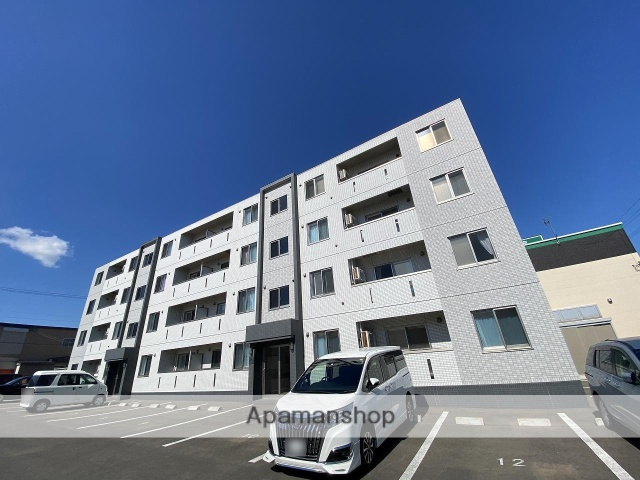 北海道函館市の新築 4階建の賃貸マンション