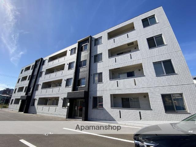 北海道函館市、函館駅徒歩11分の新築 4階建の賃貸マンション