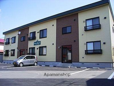 北海道函館市、深堀町駅徒歩20分の築10年 2階建の賃貸アパート