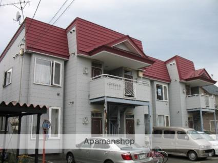 北海道北斗市、久根別駅徒歩26分の築21年 2階建の賃貸アパート