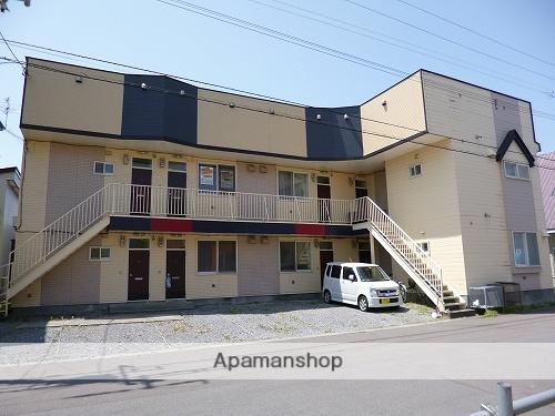北海道北斗市、七重浜駅徒歩14分の築27年 2階建の賃貸アパート