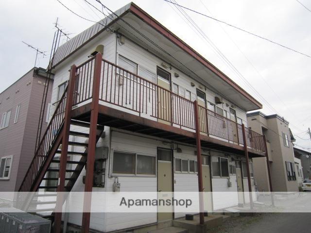 北海道函館市、五稜郭駅徒歩13分の築28年 2階建の賃貸アパート