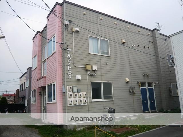 北海道函館市の築38年 2階建の賃貸アパート