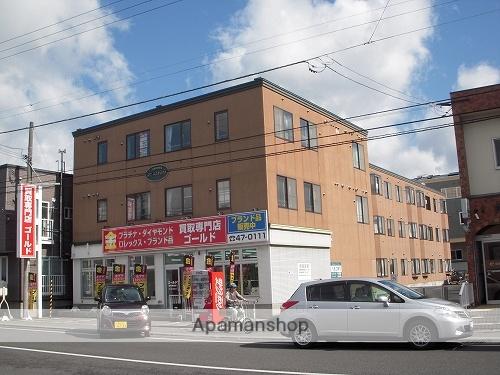 北海道函館市、桔梗駅徒歩1分の築20年 3階建の賃貸マンション