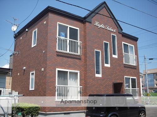北海道函館市、湯の川駅徒歩13分の築15年 2階建の賃貸アパート