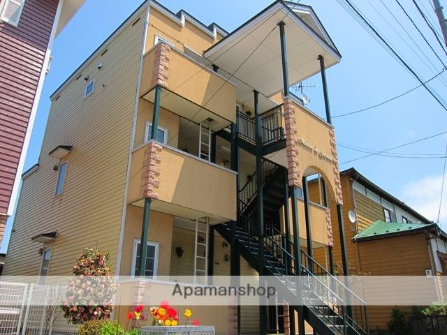 北海道函館市、末広町駅徒歩12分の築13年 3階建の賃貸アパート