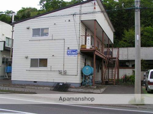北海道網走市、網走駅網走バスバス8分東1丁目下車後徒歩3分の築48年 2階建の賃貸アパート