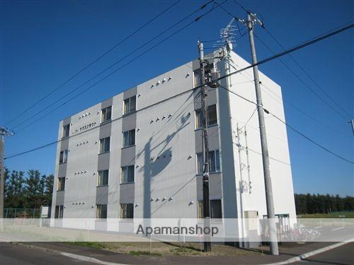 北海道網走市、網走駅徒歩90分の築8年 4階建の賃貸マンション
