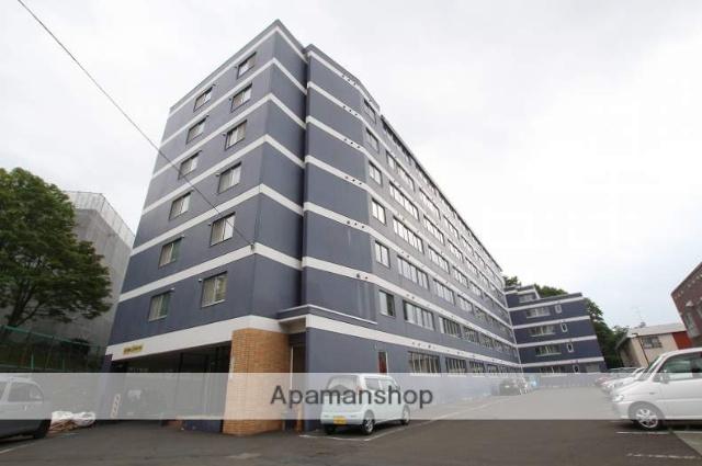 北海道札幌市豊平区、平岸駅徒歩19分の築33年 7階建の賃貸マンション
