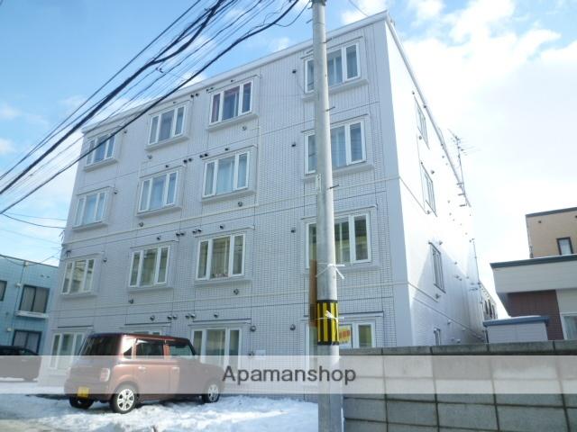 北海道札幌市南区、南平岸駅徒歩20分の築30年 4階建の賃貸マンション