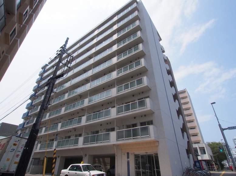 北海道札幌市豊平区、菊水駅徒歩9分の築10年 10階建の賃貸マンション