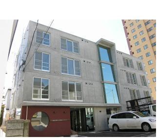 北海道札幌市豊平区、美園駅徒歩13分の築8年 4階建の賃貸マンション