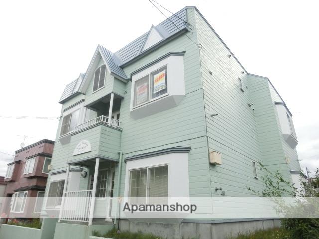 北海道札幌市南区、南平岸駅徒歩27分の築29年 2階建の賃貸アパート