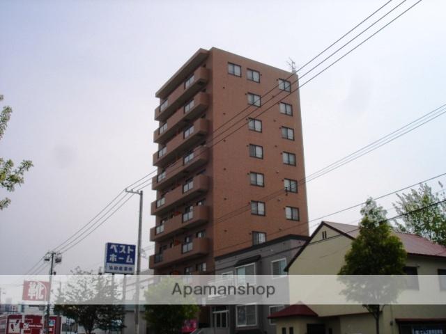 北海道札幌市豊平区、白石駅徒歩8分の築12年 10階建の賃貸マンション