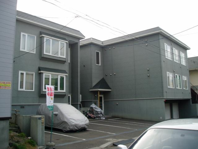 北海道札幌市南区、澄川駅徒歩9分の築19年 2階建の賃貸アパート