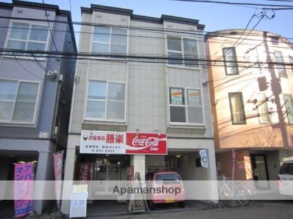 北海道札幌市豊平区、美園駅徒歩14分の築21年 3階建の賃貸アパート