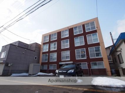 北海道札幌市豊平区、東札幌駅徒歩15分の築21年 4階建の賃貸マンション