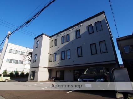北海道札幌市豊平区、白石駅徒歩12分の築10年 3階建の賃貸アパート