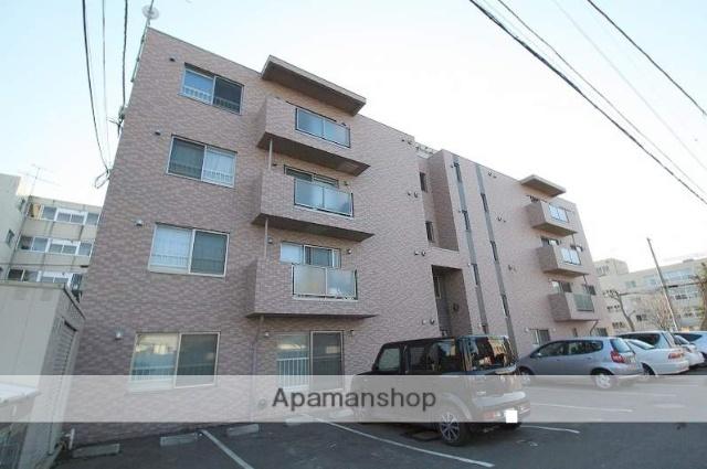 北海道札幌市豊平区、菊水駅徒歩15分の築9年 4階建の賃貸マンション