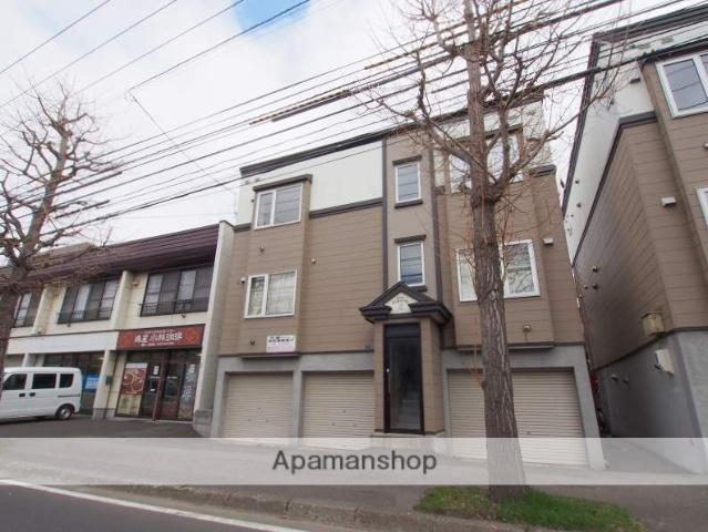 北海道札幌市豊平区、平岸駅徒歩13分の築13年 3階建の賃貸アパート