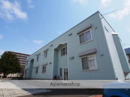 北海道札幌市豊平区、中の島駅徒歩13分の築23年 2階建の賃貸アパート