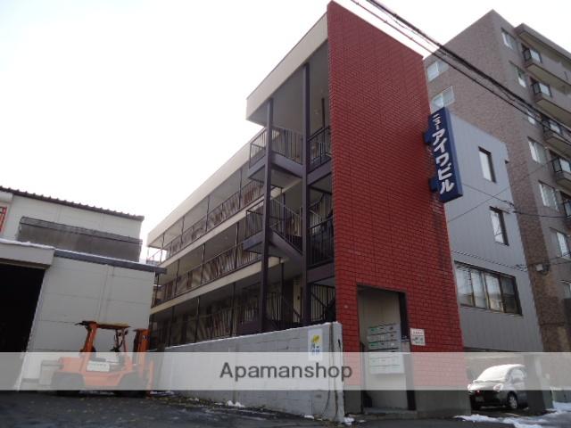 北海道札幌市豊平区、白石駅徒歩14分の築34年 4階建の賃貸マンション