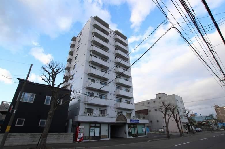 北海道札幌市豊平区、菊水駅徒歩12分の築29年 10階建の賃貸マンション