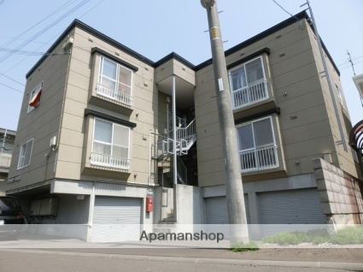 北海道札幌市豊平区、福住駅徒歩15分の築21年 3階建の賃貸アパート