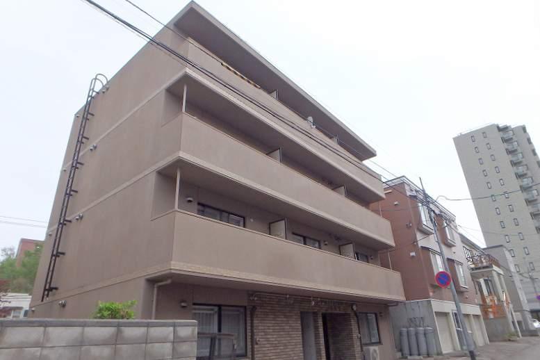 北海道札幌市豊平区、平岸駅徒歩17分の築11年 4階建の賃貸マンション