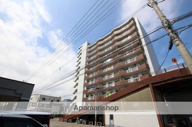 北海道札幌市豊平区、平岸駅徒歩9分の築23年 11階建の賃貸マンション