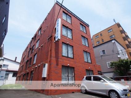 北海道札幌市豊平区、白石駅徒歩11分の築32年 4階建の賃貸マンション