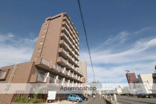 北海道札幌市豊平区、中島公園駅徒歩9分の築23年 11階建の賃貸マンション