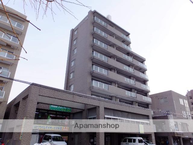 北海道札幌市豊平区、白石駅徒歩14分の築20年 9階建の賃貸マンション
