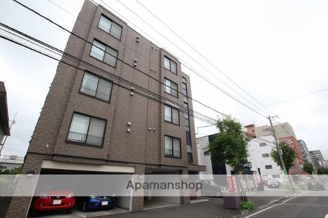 北海道札幌市豊平区、平岸駅徒歩13分の築16年 5階建の賃貸マンション