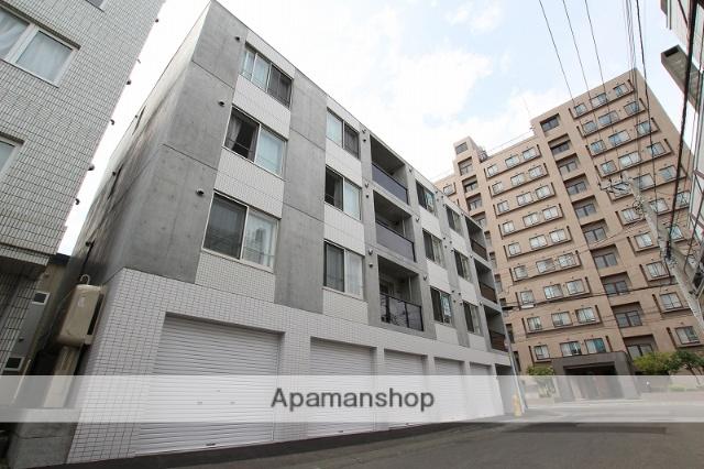 北海道札幌市豊平区、平岸駅徒歩10分の築1年 4階建の賃貸マンション