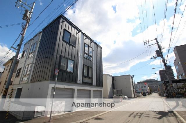 北海道札幌市豊平区、白石駅徒歩10分の築1年 3階建の賃貸アパート