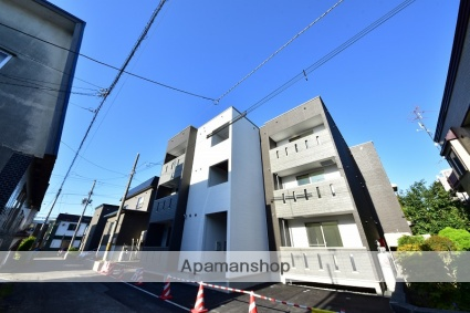 北海道札幌市東区、苗穂駅徒歩21分の新築 3階建の賃貸アパート